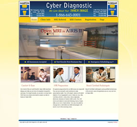 website design development hampton open mri
